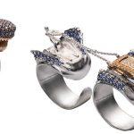 Triplo anello Squalo - Takerisks collection SS18 by Gianni De Benedittis futuroRemoto