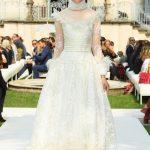 Curiel Haute Couture A/I 18-19 Abito da sposa di tulle bianco - courtesy Curiel