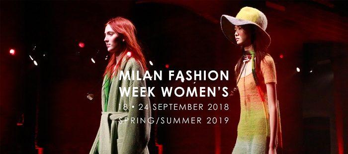 MIlano Fashion Week settembre 2018