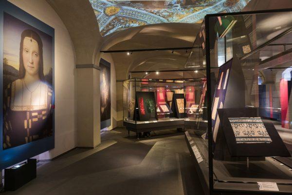 Museo del tessuto di Prato-Drappi d'oro e di seta