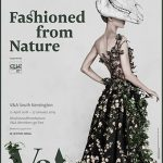 """Fashioned from Nature"" Londra V&A Museum"