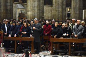 In Duomo. La S. Messa con mons. Delpini