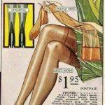 Le calze di naylon