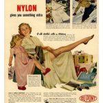 Pubblicità del nylon Dupont