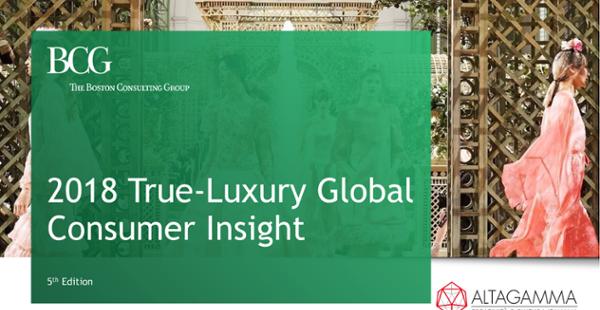 """True Luxury Global Consumer Insight"""
