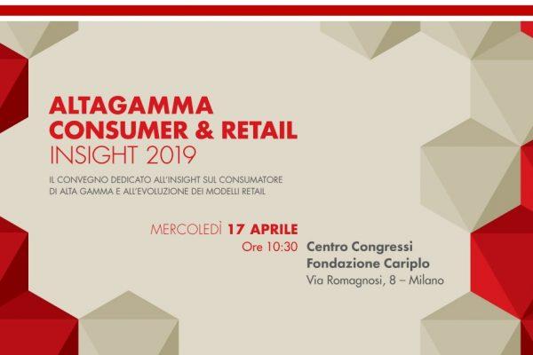 ALTAGAMMA CONSUMER & RETAIL INSIGHT 2019