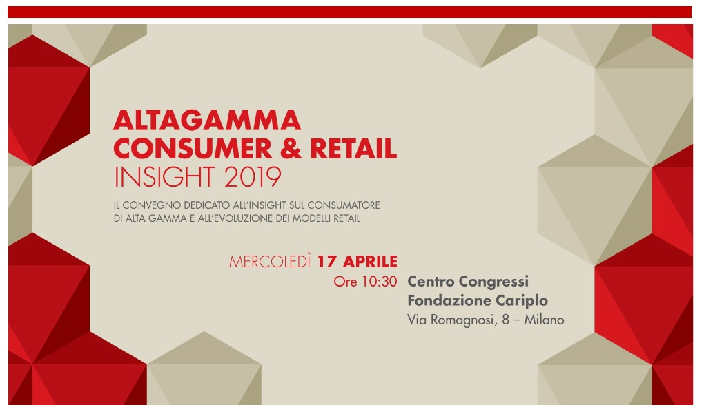 ALTAGAMMA CONSUMER & RETAIL INSIGHT 2019