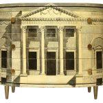 """Cassettiera """"Palladiana"""" 1950 courtesy Atelier Fornasetti"""