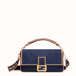 Fendi Baguette in denim blu