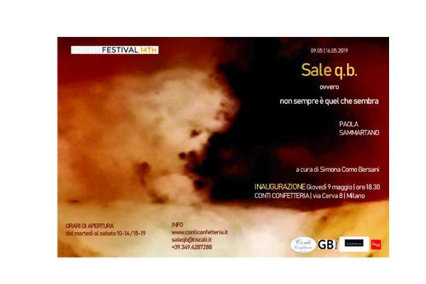 """Invito Mostra """"Sale q.b.""""- PhotoFestival 2019"""