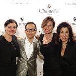 La nuova generazione Chantecler: Maria Elena, Costanza e Gabriele Aprea con la moglie Teresa