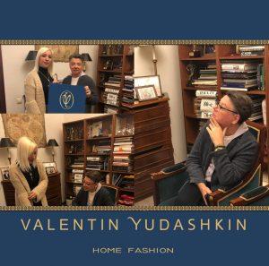 Debora Benvenuti e Valentin Yudashkin