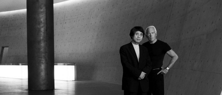 Giorgio Armani and Tadao Ando ©Roger Hutchings