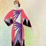 Abito simultaneo di Sonia Delaunay