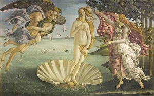 S. Botticelli-Nascita di Venere