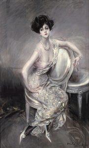 G. Boldini ritratto di Rita de Acosta Lydig