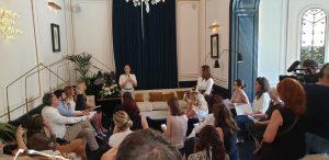 Altaroma luglio 2016 Benedetta Paravia-Conferenza Stampa