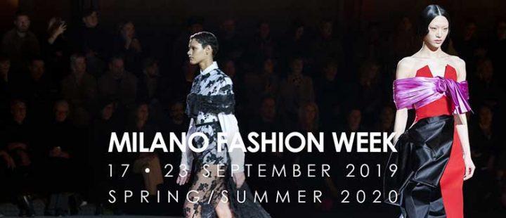 Milano Fashion Week settembre 2019