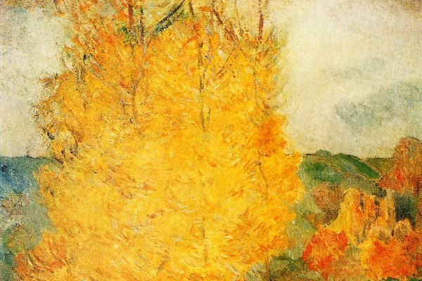 "Paul Gaugin - ""Par le courant, Automne"""