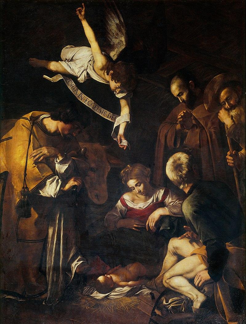 Caravaggio - Natività