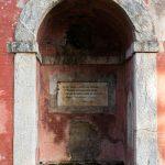 La nicchia della fontana dei viandanti ph C. Vannucci