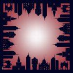 De Wan- Foulard MIlano Skyline