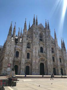 Piazza Duomo al tempo del Covid ph Simona Como Bersani