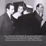 Con Beppe Modenese, Elsa Maxwell e Lilli Cerasoli Courtesy Archivio Ferdinandi