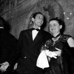Con Zoe Fontana 1953 courtesy Archivio Ferdinandi