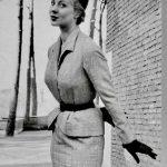 Modella Luciana Angiolillo 1952 courtesy Archivio Ferdinandi