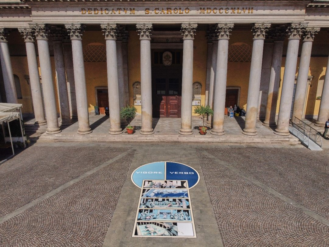 La campana di Sant'Ambrogio - P.zza S. Carlo