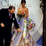 Christy Turlington e Gianfranco Ferrè Dior Collezione P/E 1992
