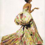 Jardin aux roses, Gianfranco Ferrè per Dior - 1992