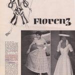 Dolores Francine Rhiney abito di V. Ferdinandi - testata straniera -courtesy archivio Ferdinanadi