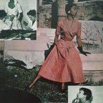 Dolores Francine Rhiney in abito di V. Ferdinandi courtesy archivio Ferdinandi