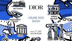 Invito Show Dior Cruise 2022