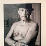 Picasso fotografato da Lartigue